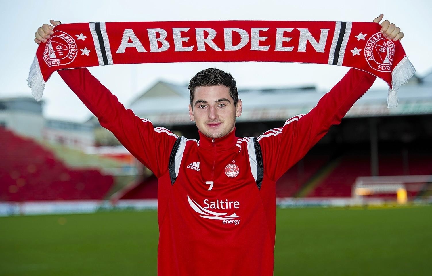 Kenny McLean joined Aberdeen on deadline day