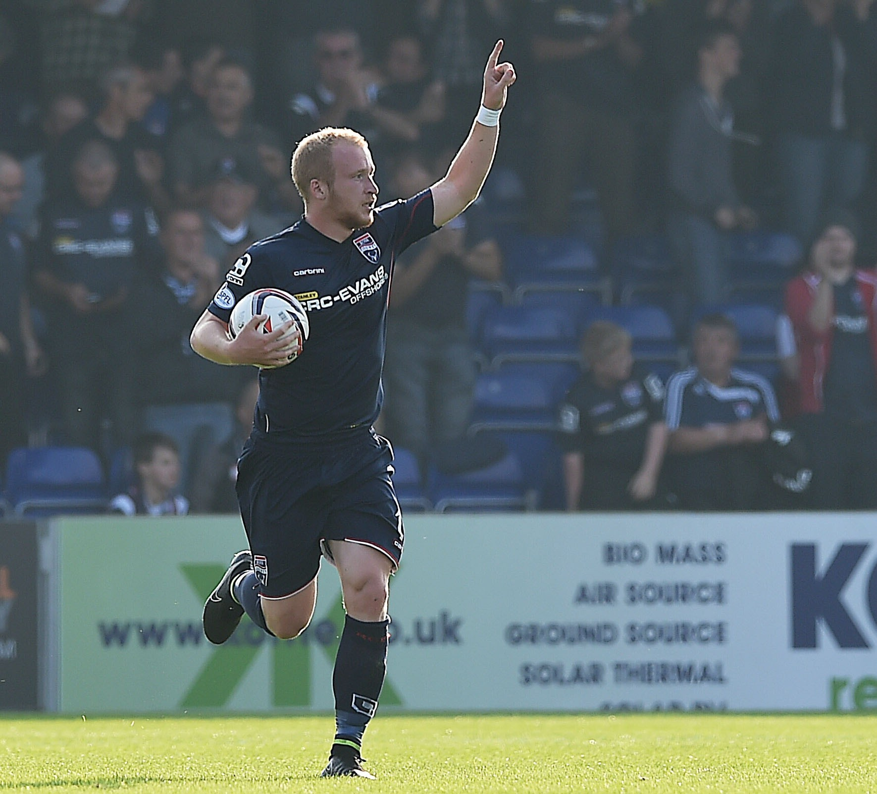 Boyce has netted some crucial goals for the Staggies this season