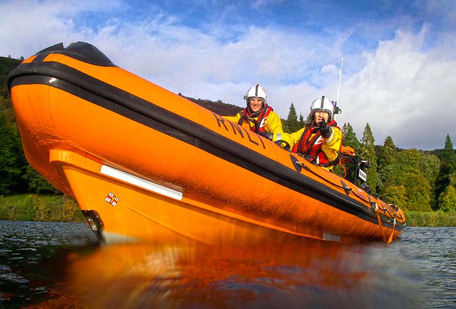 Loch Ness RNLI volunteers