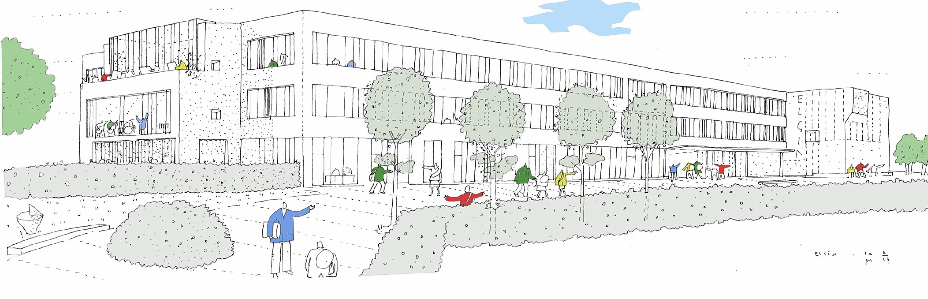 New Elgin High School plans