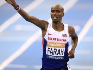 Mo Farah has been involved in a war of words with a rival