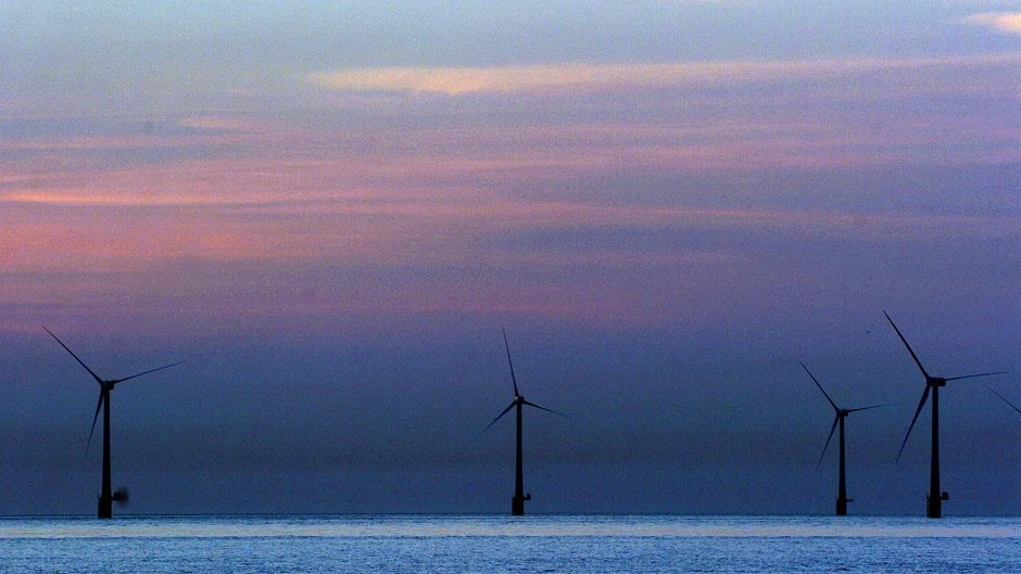 Moray Firth Wind Farm Project Snubbed Press And Journal