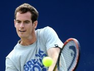 Andy Murray lost just two games to Joao Sousa in the second round in Dubai