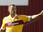 Match-winner Lionel Ainsworth, pictured, came in for plenty of praise from Motherwell boss Ian Baraclough
