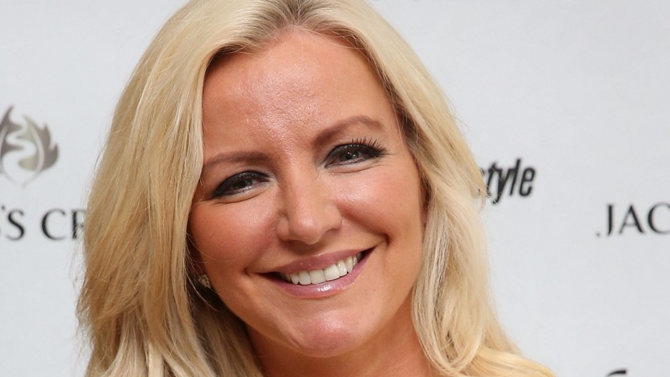 Underwear boss Michelle Mone managed to put out a small fire at her London home which was started by reflected sunlight