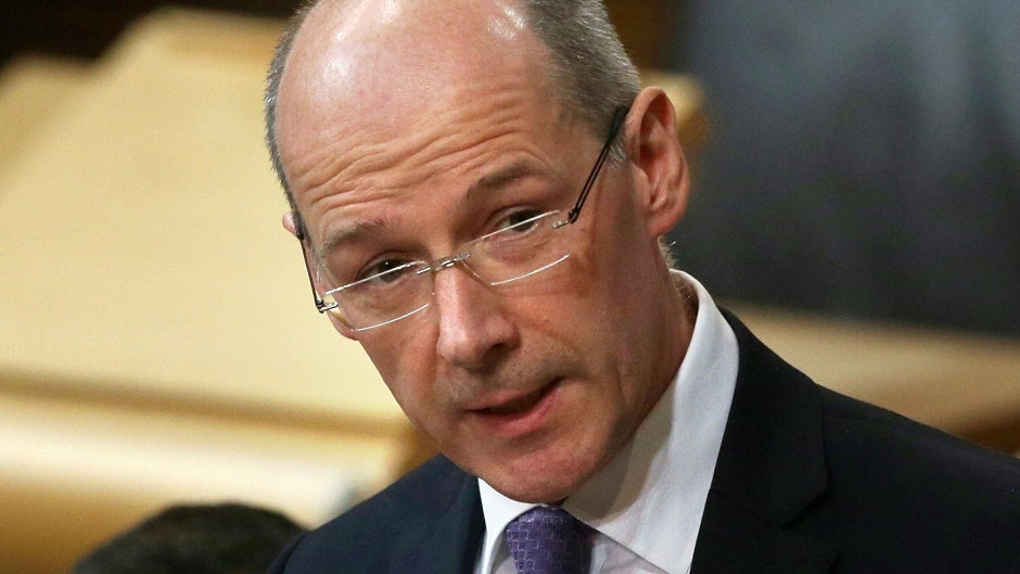 Deputy First Minister John Swinney issued ultimatum to council group Cosla over money to protect teacher numbesrs