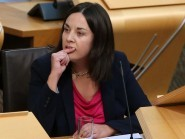 Kezia Dugdale said that the SNP administration must stop using Labour's record eight years ago as an 'excuse' in relation to the NHS