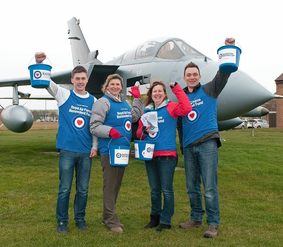 The RAF Benevolent Fund are behind the new challenge
