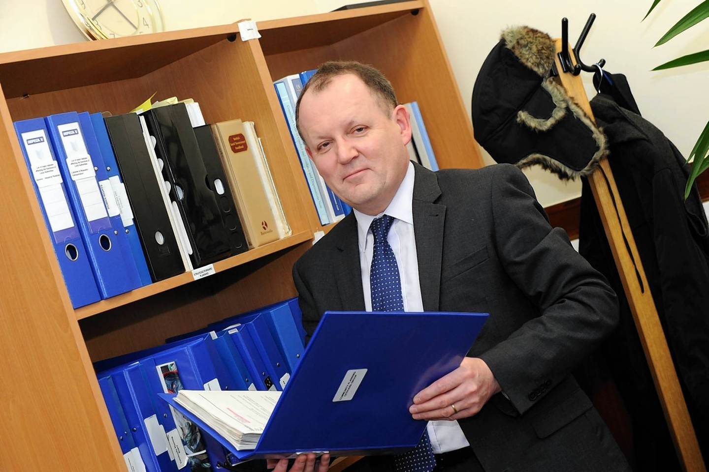 Roddy Burns insists he is committed to ensuring pupils are not sent home