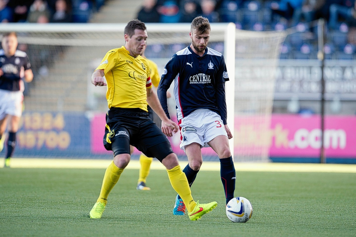 Rory Loy in action for the Bairns