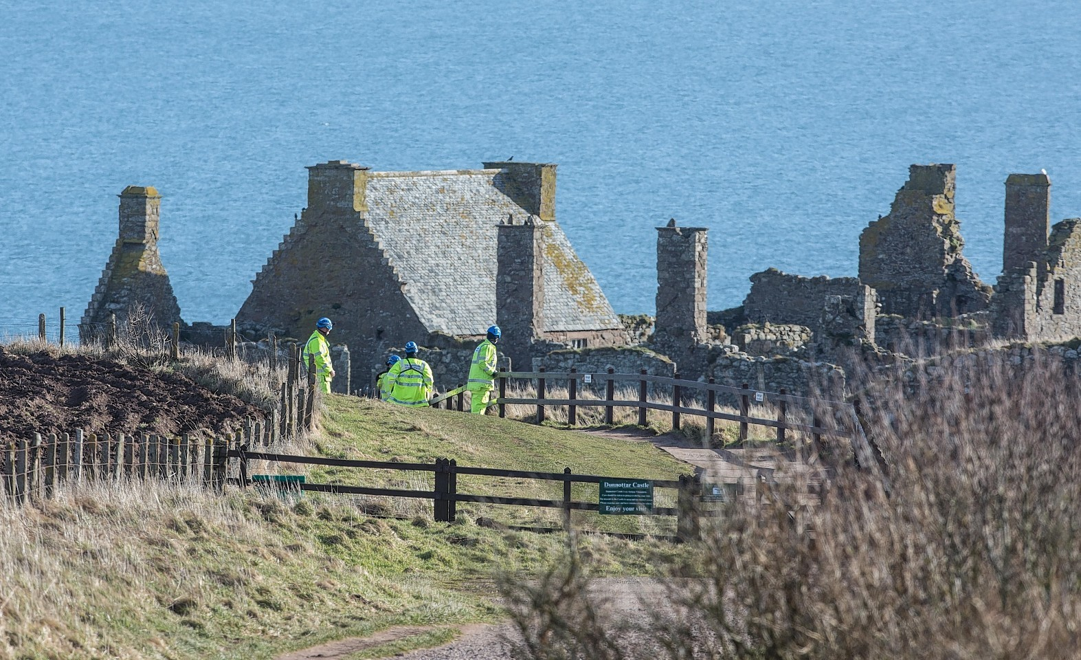 Shona Johnston's car was found at Dunnottar Castle but search teams have been unable to trace her despite extensive efforts