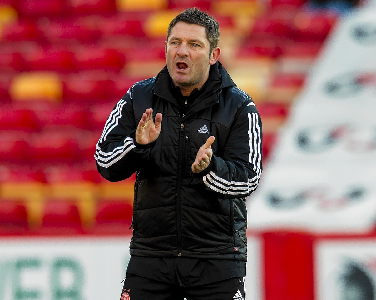Tony Docherty: Will join the Scotland coaching team for two games.
