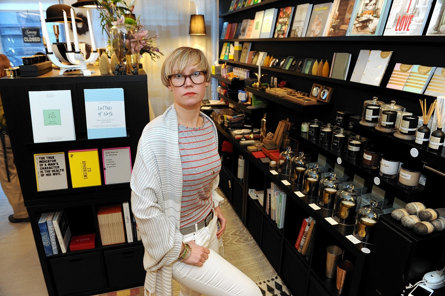 Tytti Peltoniemi, who owns Peltoniemi Concept Store, on Chattan Place, wrote an open letter to the criminal who lifted the Triwa Lansen Chrono watch from one of her shelves.