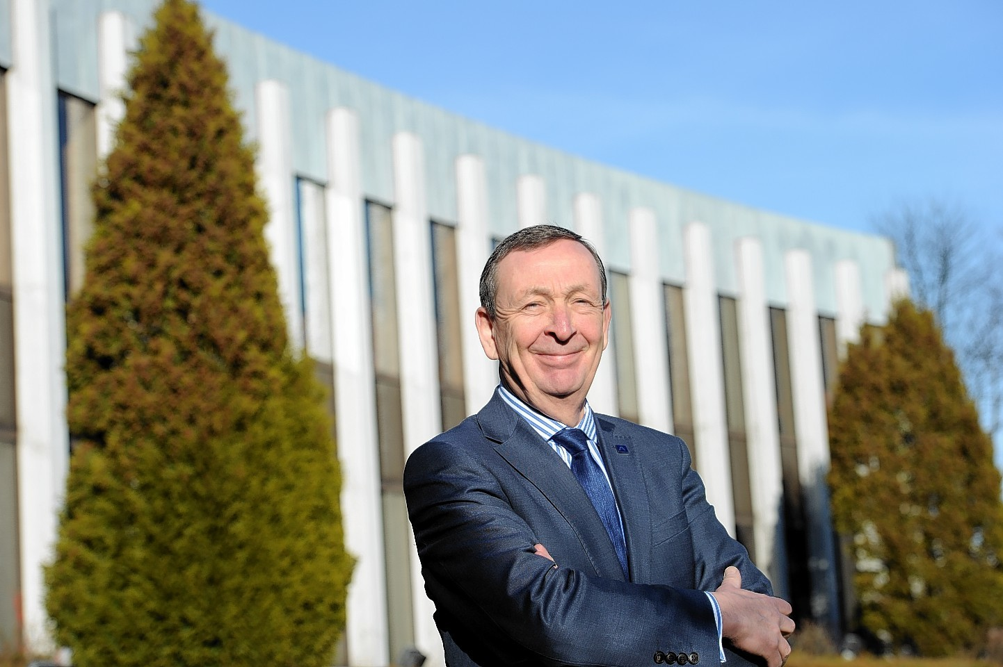 Colin Mackenzie was first appointed chief executive in 2007 but will now be replaced by Colin Mackenzie