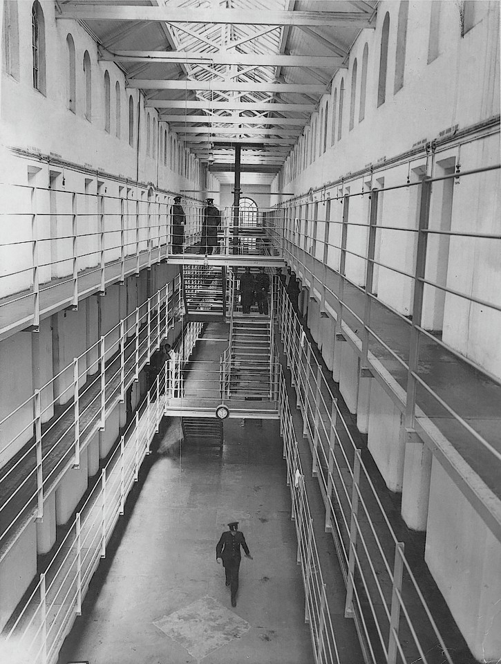 A look inside the walls of Peterhead Prison in 1959