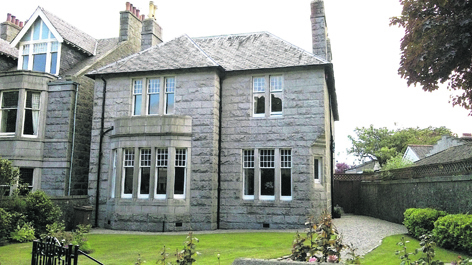 49 Rubislaw Den South is on to the market for offers over £1,500,000
