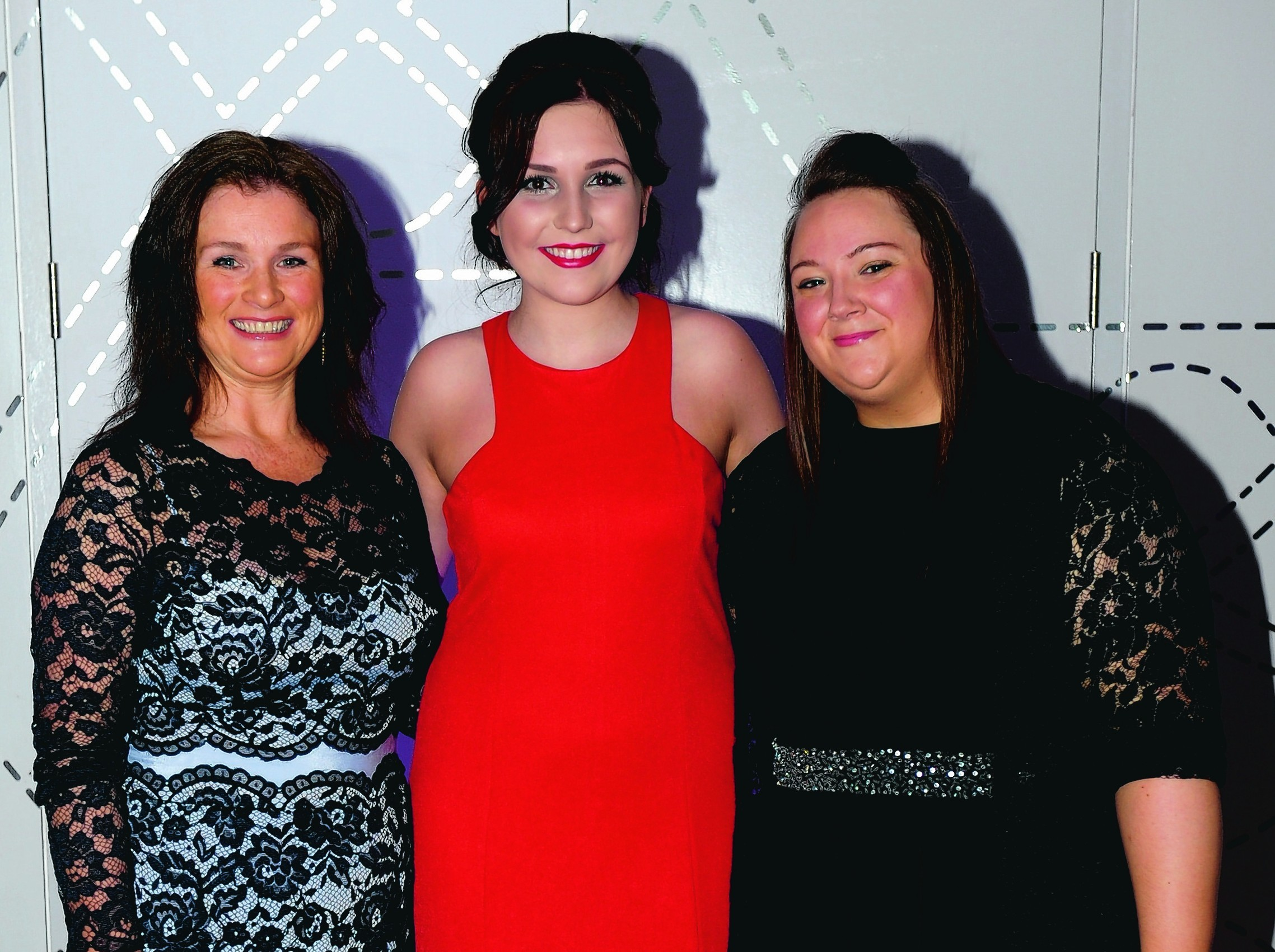 Ruth Wright, Laura Allan and Karen Howie.