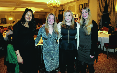 Sonia Kelly, Lucy McCormick, Becky Robinson and Jenny Setterington