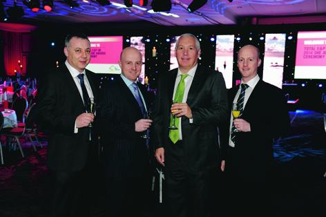 Andy Thain, Darren Sutherland, Graeme Murray and Stuart Sutherland