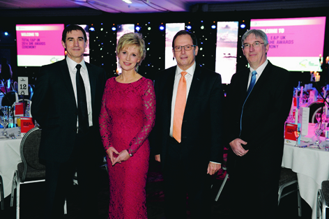 Pierre Ozon, Sally Magnusson, Philippe Guys and Patrick Vallot