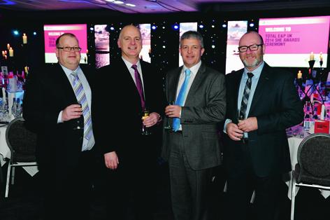 Ronnie Watt, Glen Bodie, Gavin Sutherland and Jim Paterson