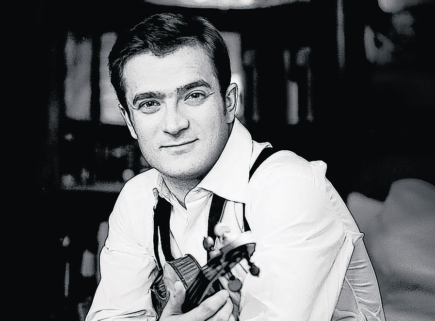 Celebrated French violinist Renaud Capucon