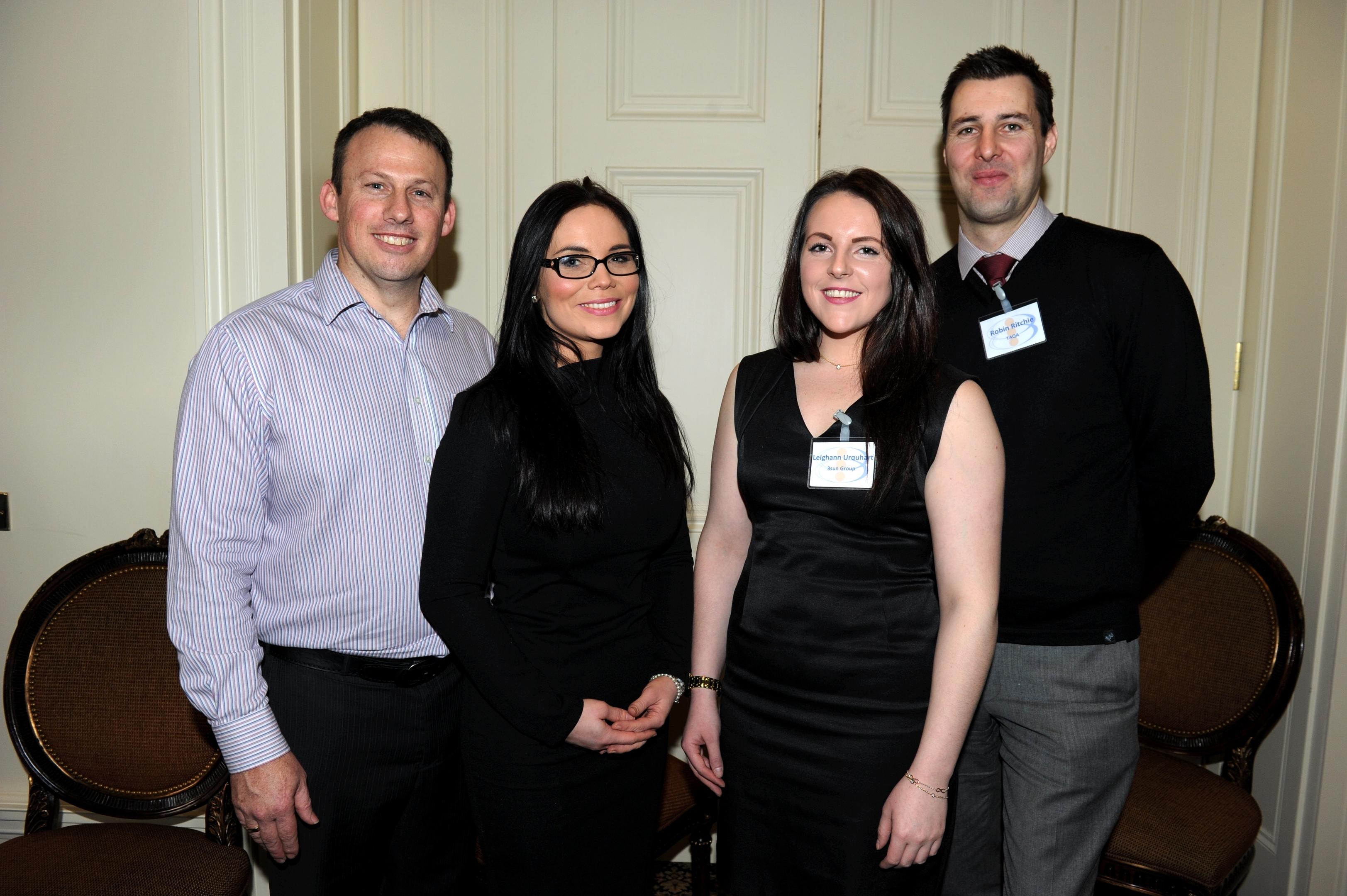 (L-R) Tim Harrison, Kim Ironside, Leighann Urquhart and Robin Ritchie