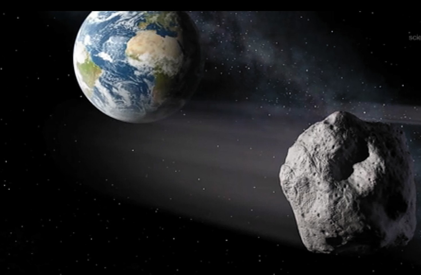 The rock is set to miss earth by millions of miles