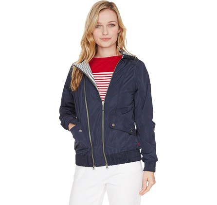 Just in time for Mother's Day is the new Seafarer collection from Barbour. The Pendeen jacket in navy (£179) is a bomber-style piece with a lightweight waterproof outer and a striking Beacon Stripe design inspired by Barbour's marine heritage.available at Country Ways, 115 Holburn Street, Aberdeen, Tel 01224 585150.