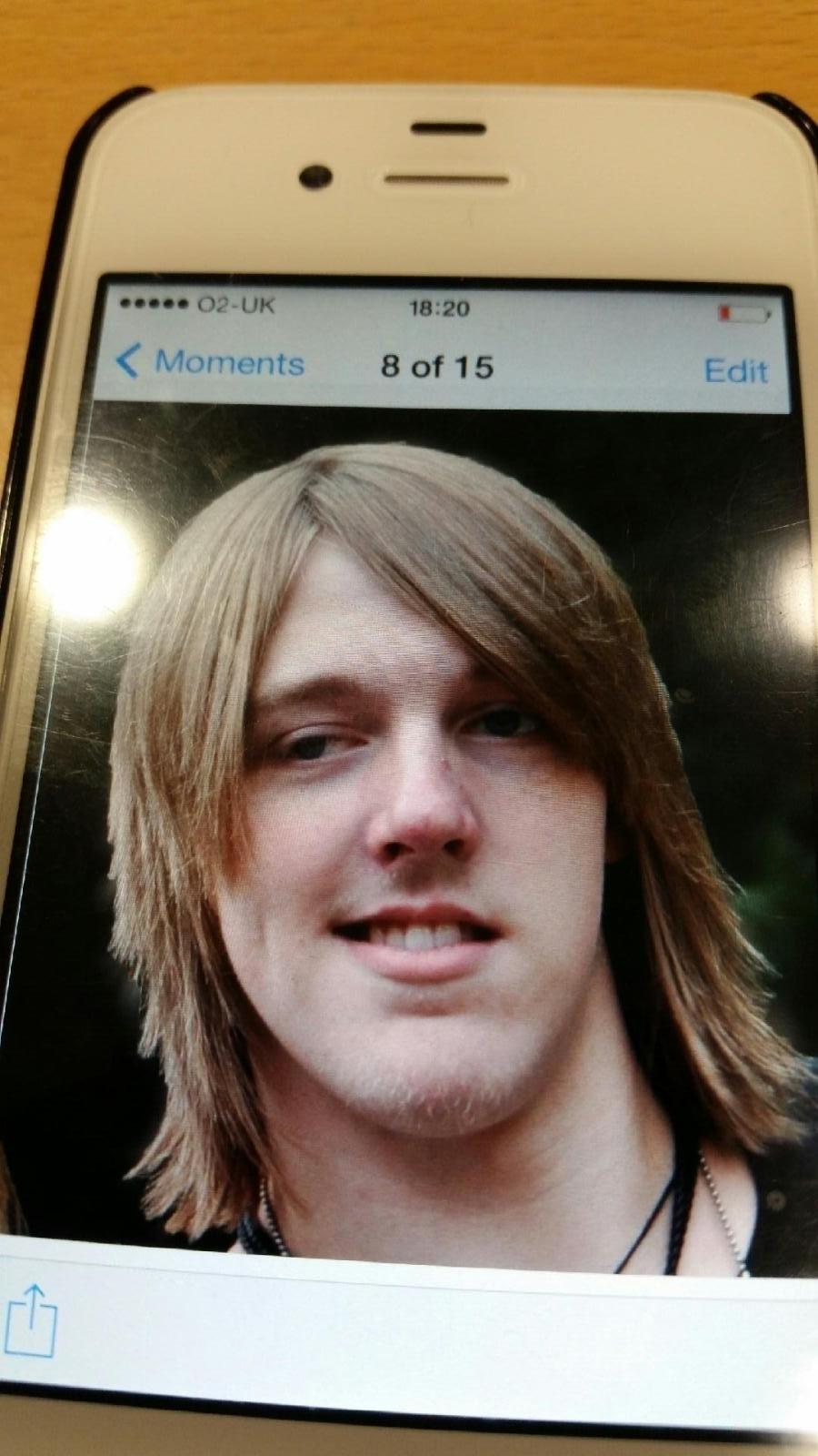 Missing person Daniel Weaver