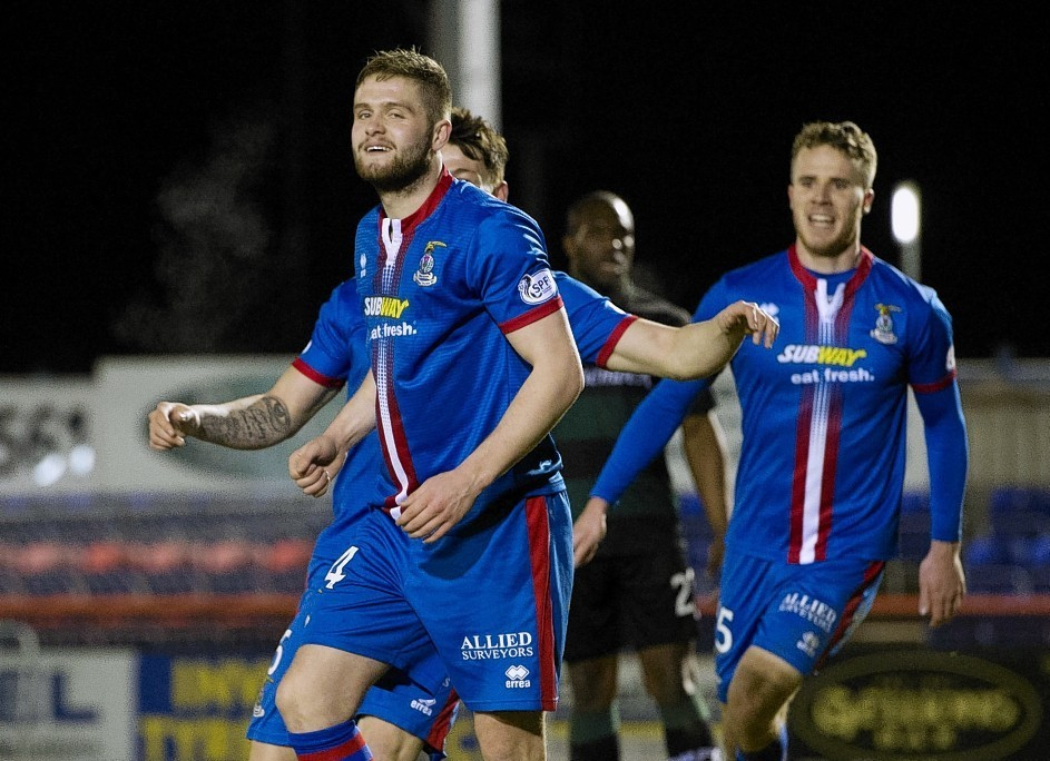 Danny Devine is to leave Caley Thistle this summer