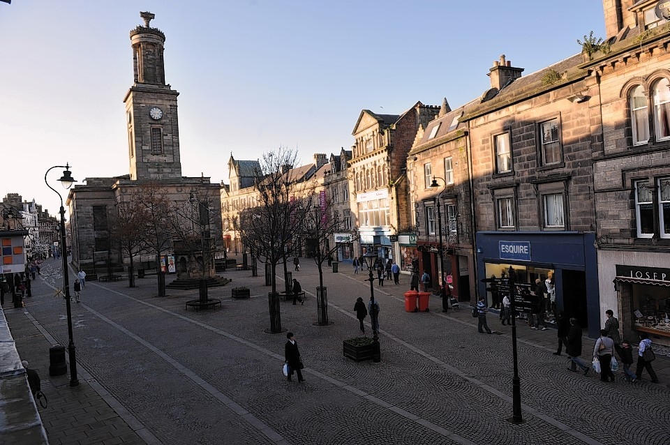 Elgin town centre trade boosted by introduction of free ...