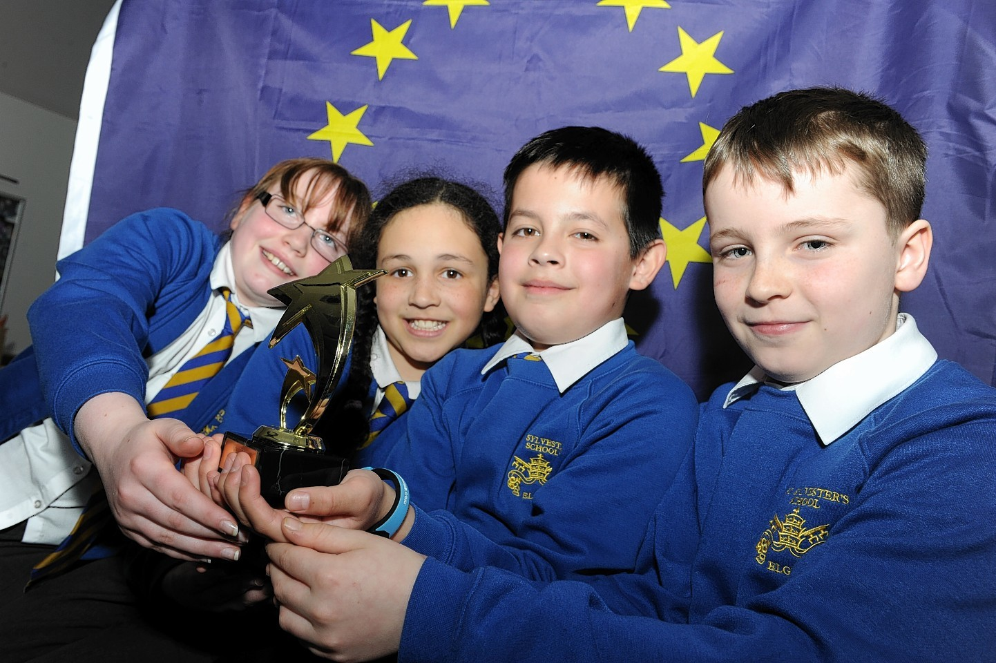 St Sylvester's RC pupils to compete against other regional winners in a televised contest on Monday, May 11
