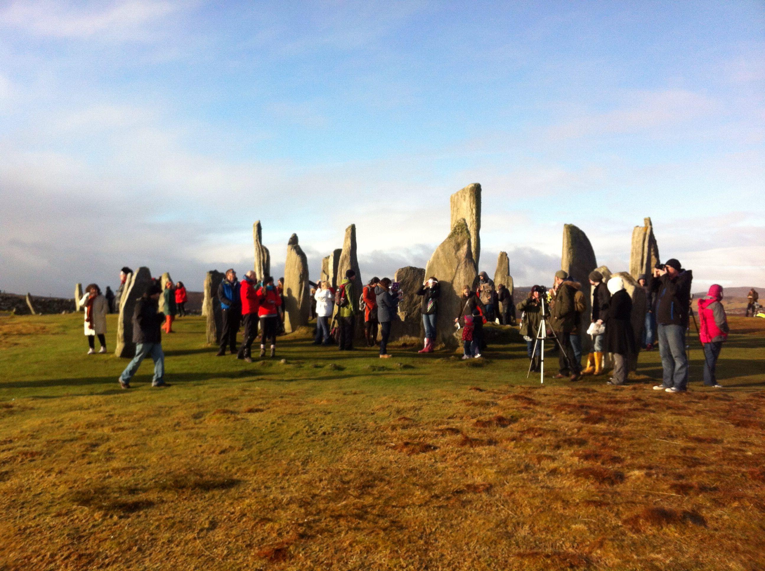 Iain McIver at Callanish Western Isles