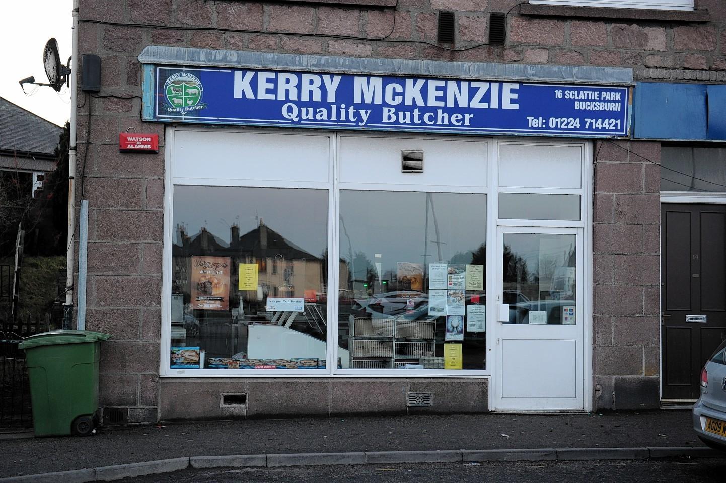 Kerry McKenzie butcher