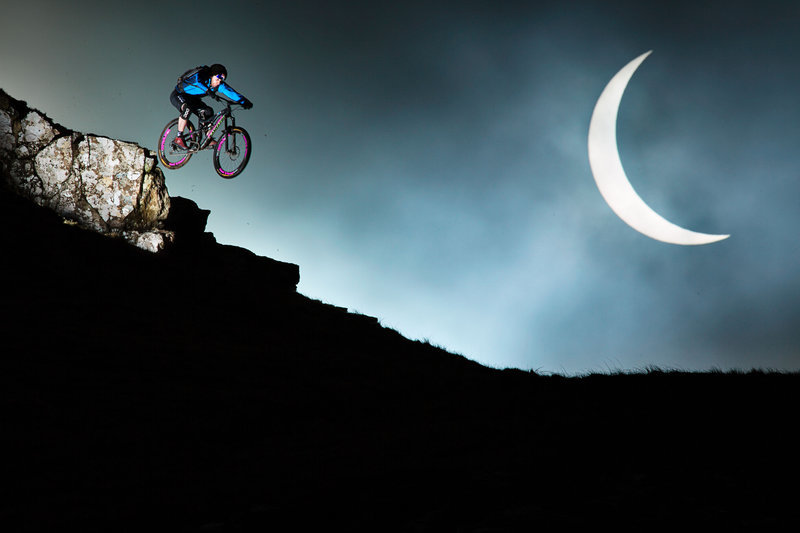 Danny MacAskill is never one to miss a chance for a stunning photograph
