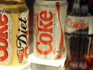 Police said the lorry was filled with cans of Coca-Cola and other soft drinks