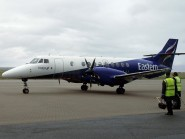 An Eastern Airways aircraft returned to Aberdeen Airport shortly after taking off bound for Wick