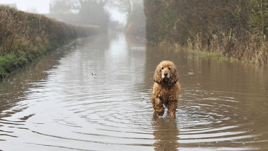 The Met Office has warnings for the Highlands and Islands, with flooding possible