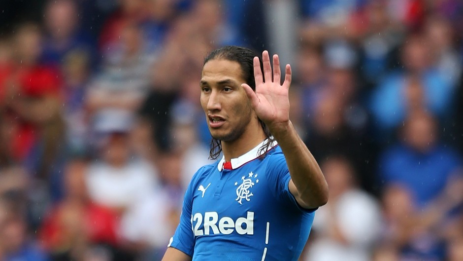 Bilel Mohsni whilst playing for Rangers