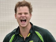 Australia's Steven Smith cracked a century to help beat India in the World Cup semi-final