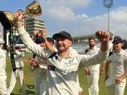Adam Lyth has begun the new first-class season with a century
