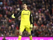 Thibaut Courtois was key to Chelsea's win at West Ham