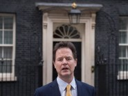 Deputy Prime minister Nick Clegg is beginning his battlebus election tour in the marginal constituency of Oxford West and Abingdon