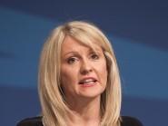 Esther McVey hailed the Government's long-term economic plan
