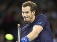 Andy Murray, pictured, beat Donald Young in Miami