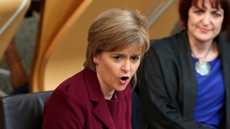 Nicola Sturgeon  was accused of fiddling research justifying full fiscal autonomy for Scotland.