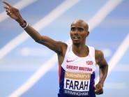 Mo Farah won the EDP Lisbon Half Marathon in 59 minutes 32 seconds