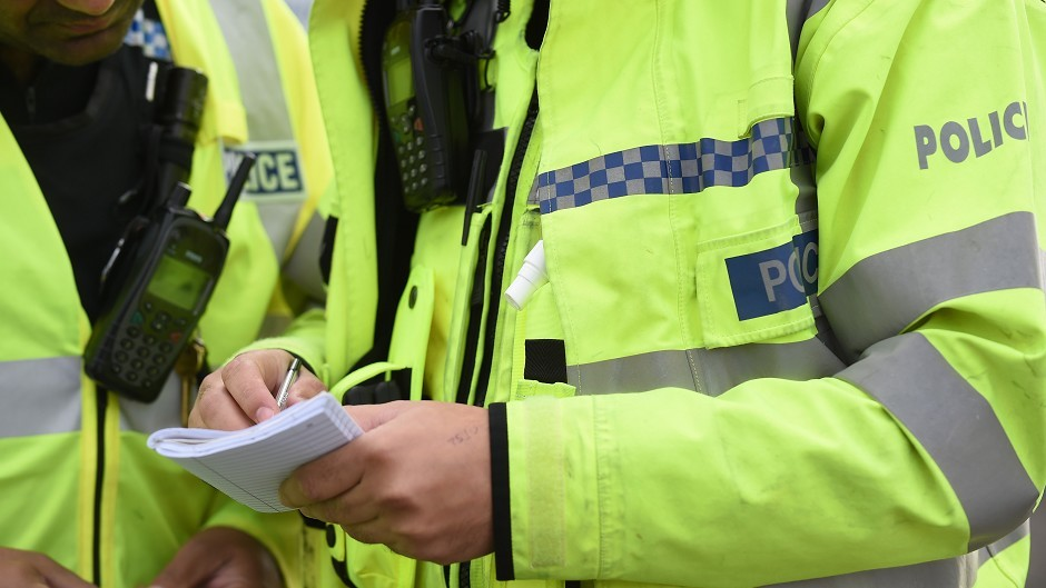 Two men have been charged with assault following the incident in Ellon