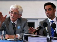 Dr Jim Swire (left) and Aamer Anwar have launched a legal bid to try and bring forward a Lockerbie bomber appeal